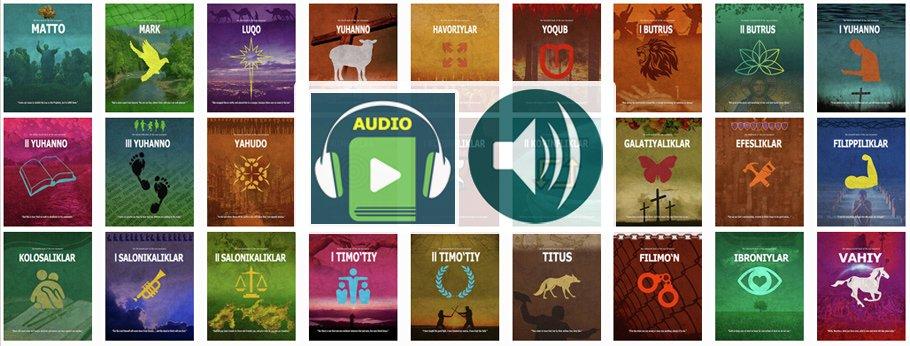 Audio Injil Uzbek tilidagi. Yangi Ahd